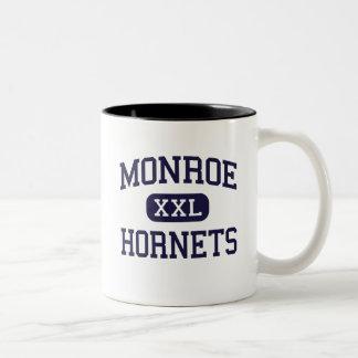 Monroe - Hornets - High School - Monroe Ohio Two-Tone Coffee Mug