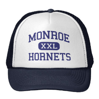 Monroe Hornets Middle Rochester New York Trucker Hat