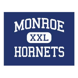 Monroe Hornets Middle Rochester New York Postcard