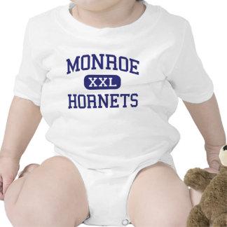 Monroe Hornets Middle Rochester New York Creeper