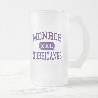 Monroe - huracanes - área - Monroe Georgia Tazas