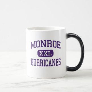 Monroe - huracanes - área - Monroe Georgia Taza De Café