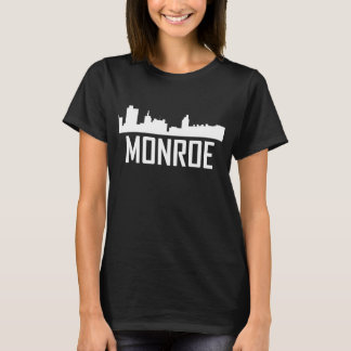 Monroe Louisiana City Skyline T-Shirt