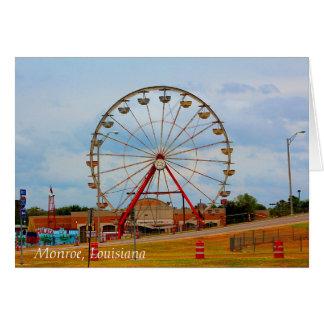 Monroe Louisiana Fair Card