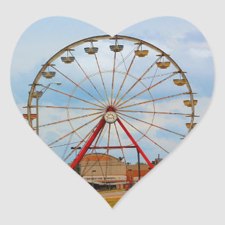 Monroe Louisiana Fair Heart Sticker