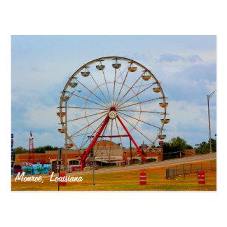 Monroe Louisiana Fair Postcard