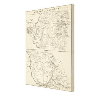 Monroe, Lyman, Bath Canvas Print