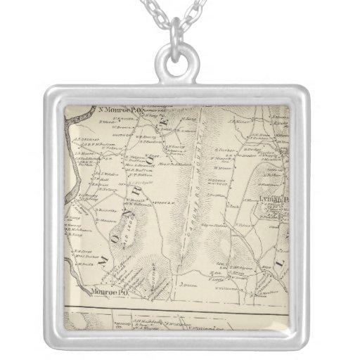 Monroe, Lyman, Bath Custom Necklace