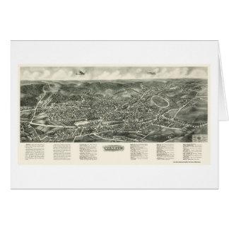 Monroe, NY Panoramic Map - 1923 Card