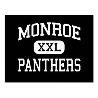 Monroe - panteras - alta - Tehachapi California Postales