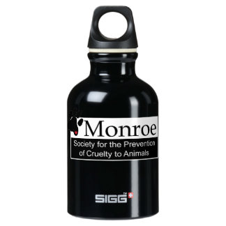 Monroe SPCA Aluminum Water Bottle