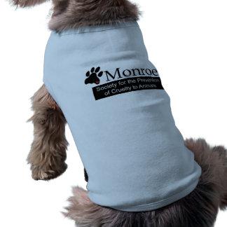 Monroe SPCA Dog Ribbed Tank Top