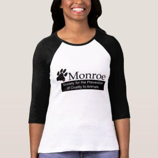 Monroe SPCA Women's 3/4 Sleeve T-Shirt