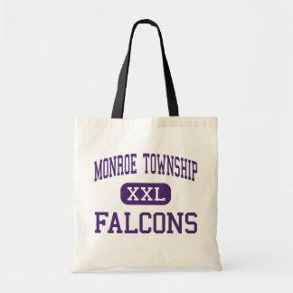 Monroe Township - Falcons - High - Monroe Township Tote Bags