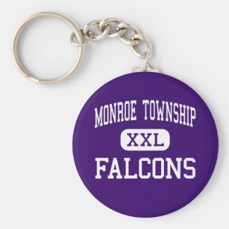 Monroe Township - Falcons - High - Monroe Township Key Chains