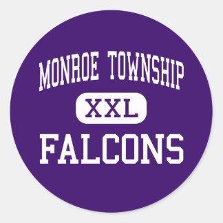Monroe Township - Falcons - High - Monroe Township Sticker