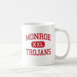 Monroe - Trojans - High School - Monroe Michigan Coffee Mug