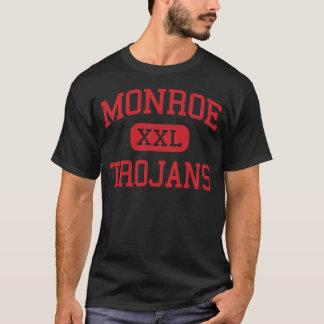 Monroe - Trojans - Middle School - Monroe Michigan T-Shirt