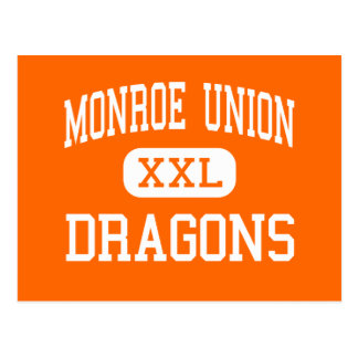 Monroe Union - Dragons - High - Monroe Oregon Postcard
