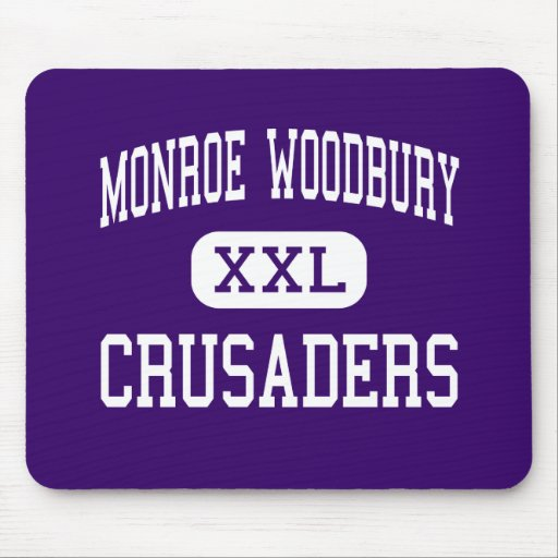 Monroe Woodbury - Crusaders - Central Valley Mouse Pads