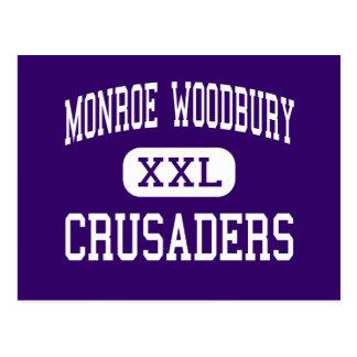 Monroe Woodbury - cruzados - Central Valley Tarjetas Postales