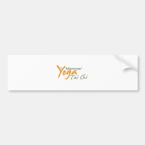 Monroe Yoga and Tai Chi Bumper Sticker