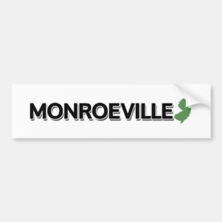 Monroeville, New Jersey Bumper Sticker