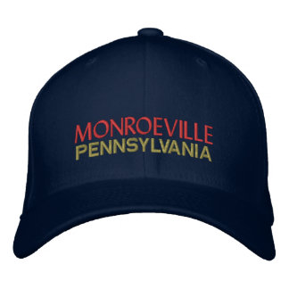 Monroeville Pennsylvania Embroidered Baseball Hat