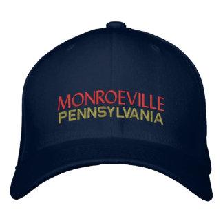 Monroeville Pennsylvania Embroidered Baseball Caps