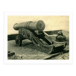 Mons Meg Cannon, Edinburgh Castle, Scotland Postcard
