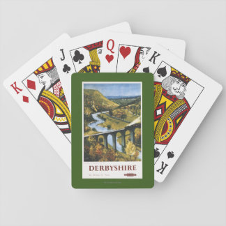 Monsal Dale, Train and Viaduct British Rail Playing Cards
