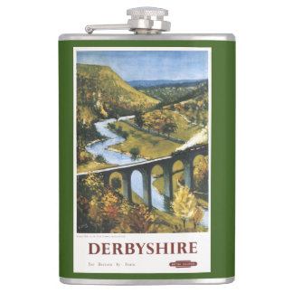Monsal Dale, tren y viaducto British Rail