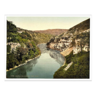 Monsal Dale, Water-come-Jolly, Derbyshire, England Postcard