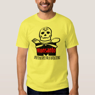Monsanto - Control The Food Supply T-shirt