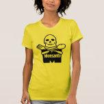 Monsanto significa la camiseta de la muerte