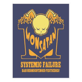 Monsatan -Systemic Failure Post Cards