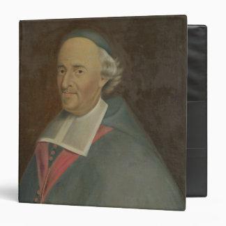 "Monseigneur de Montmorency-Laval Obispo Carpeta 1 1/2"""