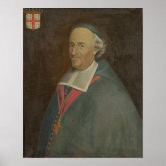 Monseigneur de Montmorency-Laval Obispo Póster