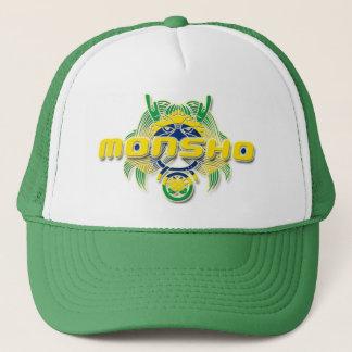 MONSHO BRAZIL GREEN TRUCKER HAT