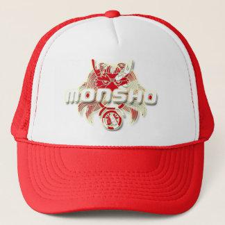 MONSHO JAPAN RED TRUCKER HAT