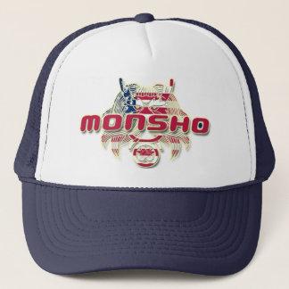 MONSHO USA NAVY TRUCKER HAT