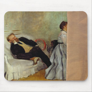 Monsieur and Madame Edouard Manet, 1868-69 Mouse Pad