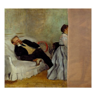 Monsieur and Madame Edouard Manet, 1868-69 Poster