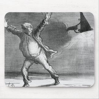 Monsieur Babinet decides to shut down the sun Mouse Pad