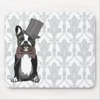 Monsieur Bulldog Mouse Pad