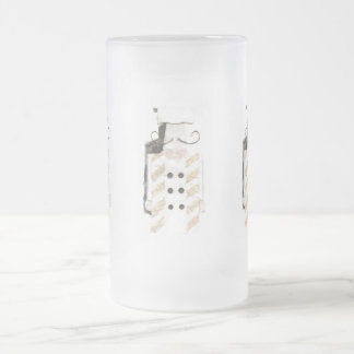 Monsieur Chef Frosted Jug Frosted Glass Beer Mug