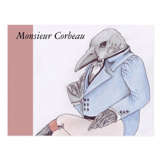 Monsieur Corbeau Postcard