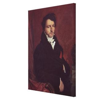 Monsieur de Norvins , 1811-12 Canvas Print
