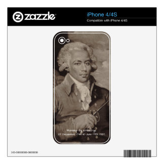 Monsieur De St-George Decal For The iPhone 4S