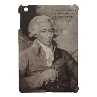 Monsieur De St-George iPad Mini Cover